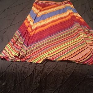 NEW DIRECTIONS MULTI COLOR SKIRT...